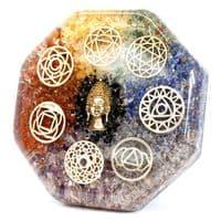 Orgonite Desk Power Pack - Buddha Chakra - Large